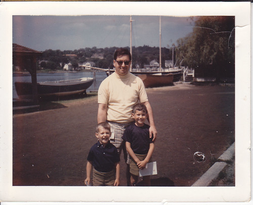 Dad Barry & Corey at Mystic Connecticut (June 23, 1968)