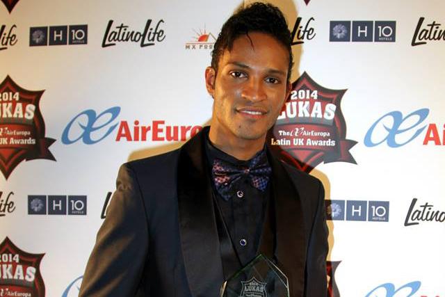 Fernando Montaño at the LUKAS Awards 2014 ©  Roger Alarcon