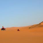 Paisajes que atravesamos en quad por el desierto del Sahara