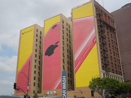 Apple iPhone, Figueroa Hotel, Downtown LA