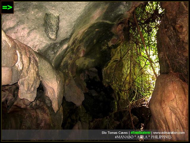 Santo Tomas Caves: Manabo, Abra
