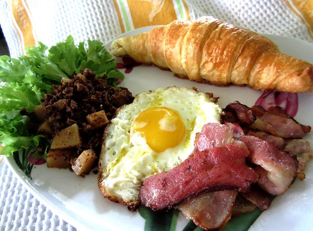 Breakfast for my girl