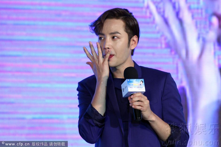 [Pics] Jang Keun Suk Calls For More Charity Work and Be Eco-Friendly At Caffe Bene FM_20140426 14078148053_13a9081212_o