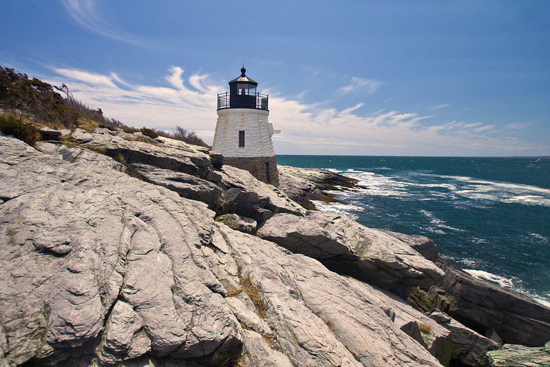 Castle Hill Lighthouse, Newport, Rhode Island