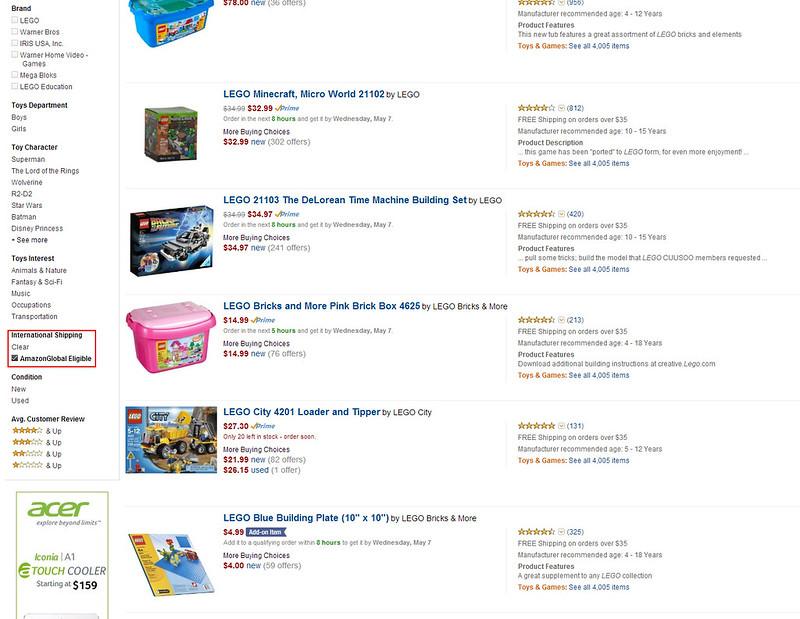 AmazonGlobal Eligible