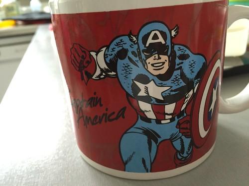 Mug Captain America