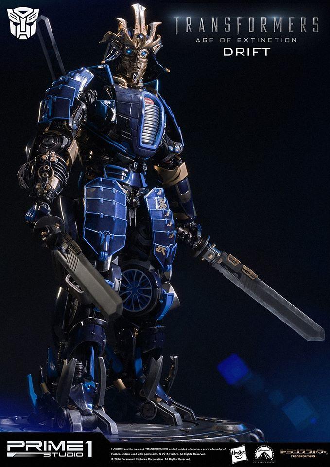 Prime 1 Studio 變形金剛4:絕跡重生【甩尾】DRIFT 博派 22 吋全身雕像