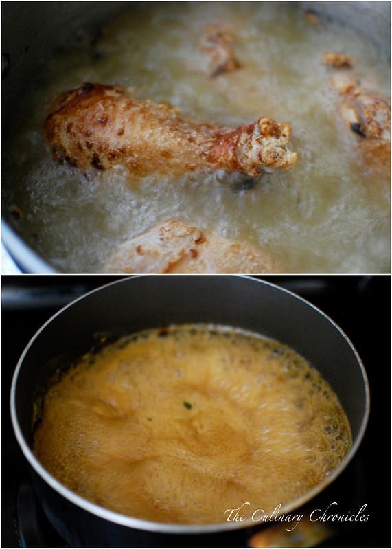 Xôi Gà Chiên Nước Mắm {Vietnamese-Style Fried Chicken with Sticky Rice}
