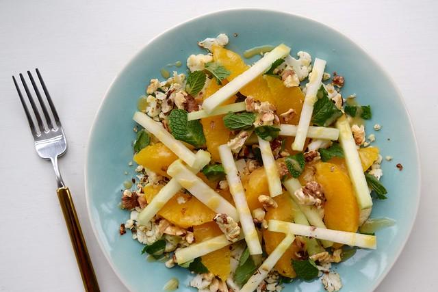 Winter Salad with Honey Vinaigrette