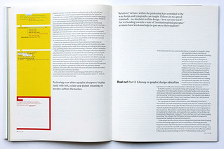 Read me! Literacy in graphic design education