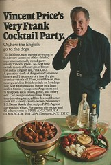 Vincent Price ad, 1971