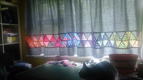 Workroom curtains 1