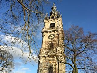 Beffroi de Mons (Valonia, Bélgica)