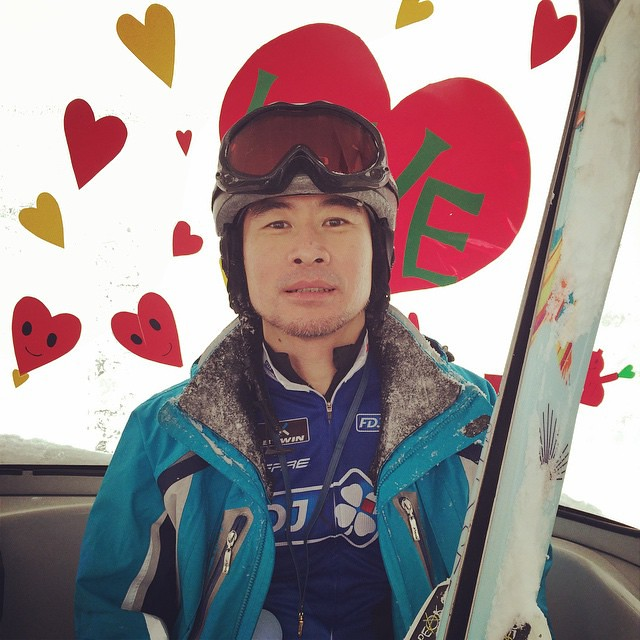 Photo:ゴンドラがバレンタインデコレーションなので仕方がない(キリッ #4年ぶりの志賀はやっぱええわ By Tatsumine