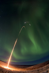 Sounding Rocket Launches Successfully from Alaska