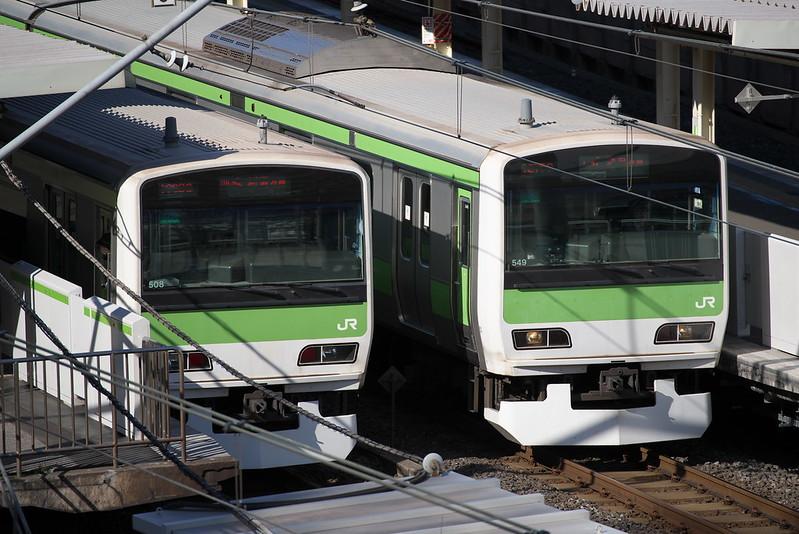 Tokyo Train Story 山手線 2015年2月6日