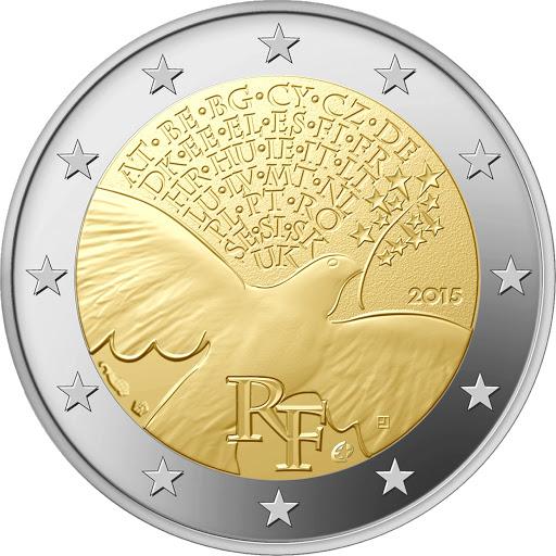 2 Euro Francúzsko 2015, Mier v Európe