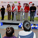 En la Escuela Primaria Justo Sierra.