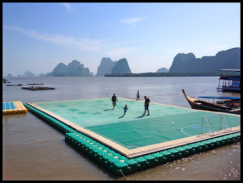 Koh Panyee - The Floating Football Pitch