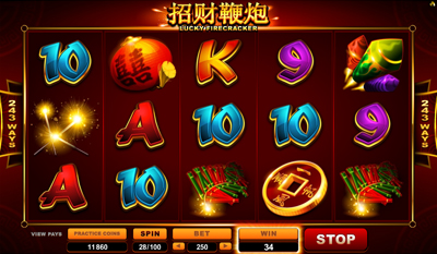 Lucky Firecracker slot game online review