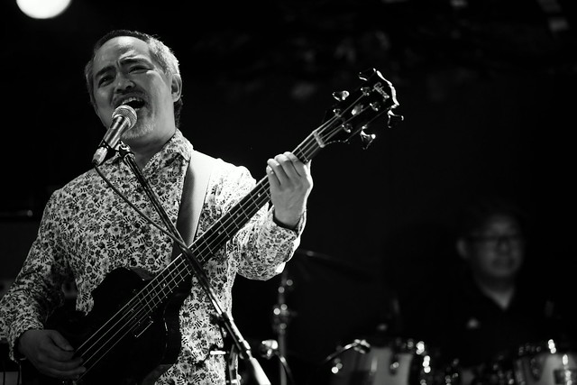 CABU live at Outbreak, Tokyo, 15 Feb 2015. 089