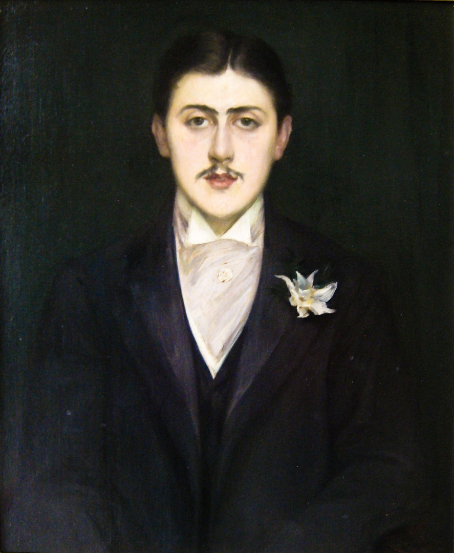 Portrait of Marcel Proust by Jacques-Emile Blanche, 1892