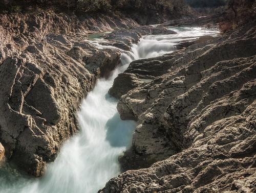 river flow stream fiume candigliano