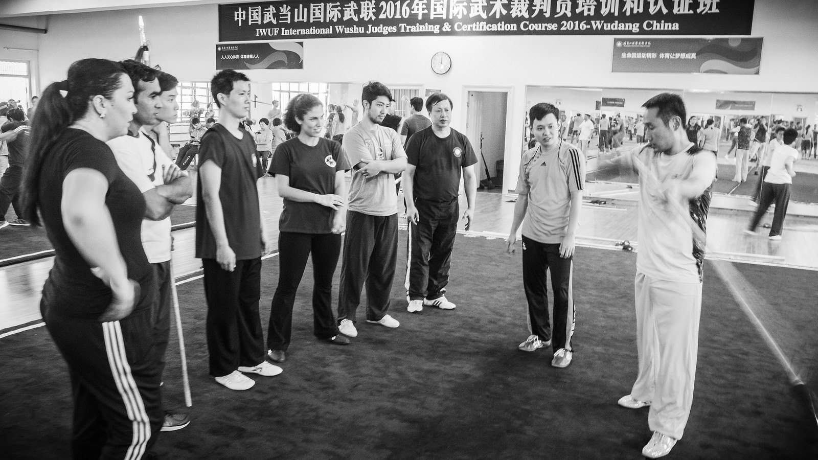 2016 IWUF International Wushu Judges Certification Course