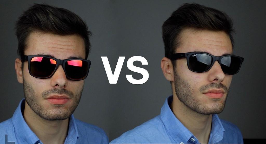 a7034fb1315 ... Ray-Ban Justin vs New Wayfarer On Face