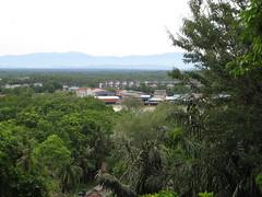 Selangor River seen from the Melawati hill