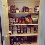 An OCD day off - Pantry organization! by bartlewife