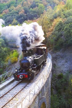 Ardèche+train+Vivarais
