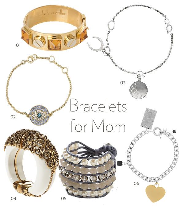 Bracelets collage
