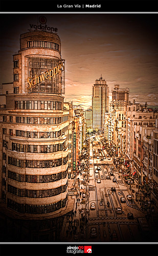 La Gran Vía | Madrid by alrojo09