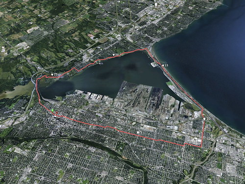 Around The Bay 30K Race Route
