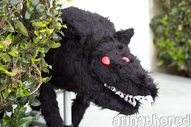 stuffed stuff: Wolfmother ver. 2 from Sword & Sworcery