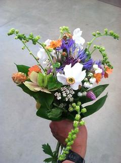 Karina's Pre-Wedding Bouquet
