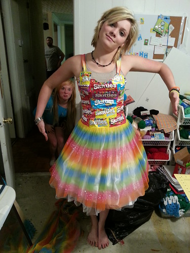 Incredible Boc Boc In Bows Skittle Dress To Prom Short Hairstyles Gunalazisus