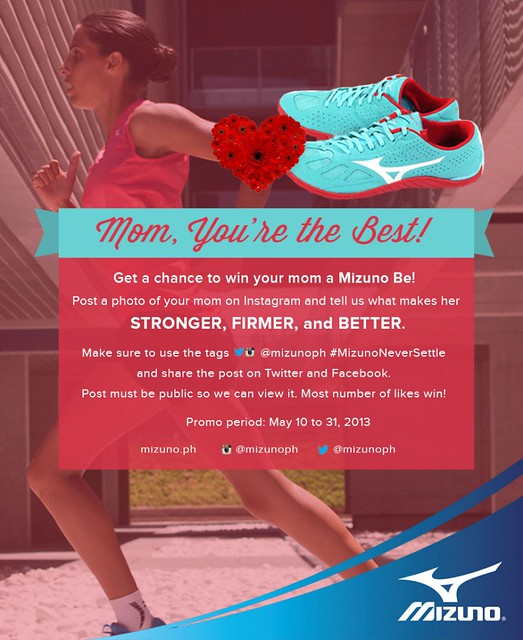 Mizuno Promo : Mom, You're the Best