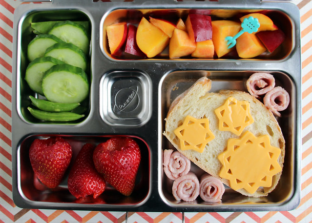 Preschool Sunny Cheese Bread Bento #446