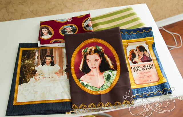 Gone with the wind fabric