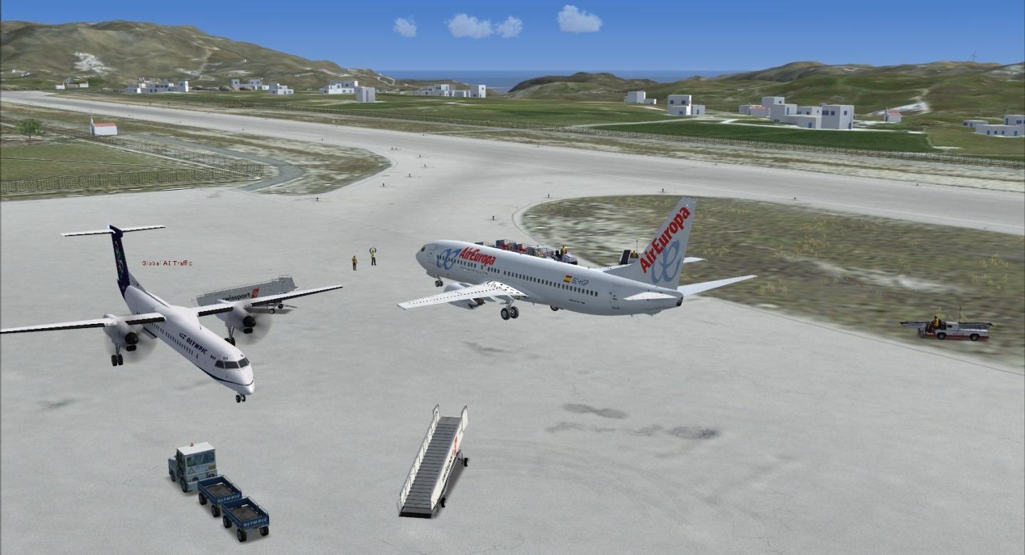 First landing Mykonos 8841250443_8671aacba1_o