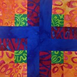 1 - Diane R - bright batiks