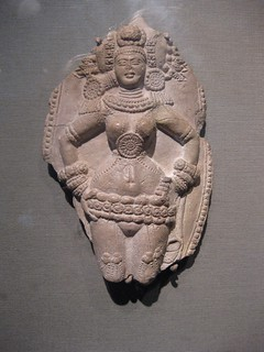 One of 3 female figures