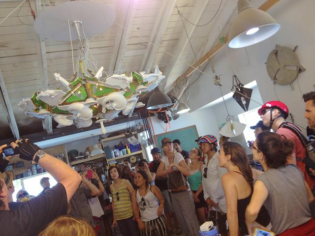 Eddy Sykes chandelier