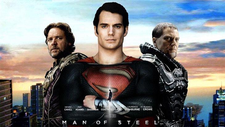 hombre de acero Superman
