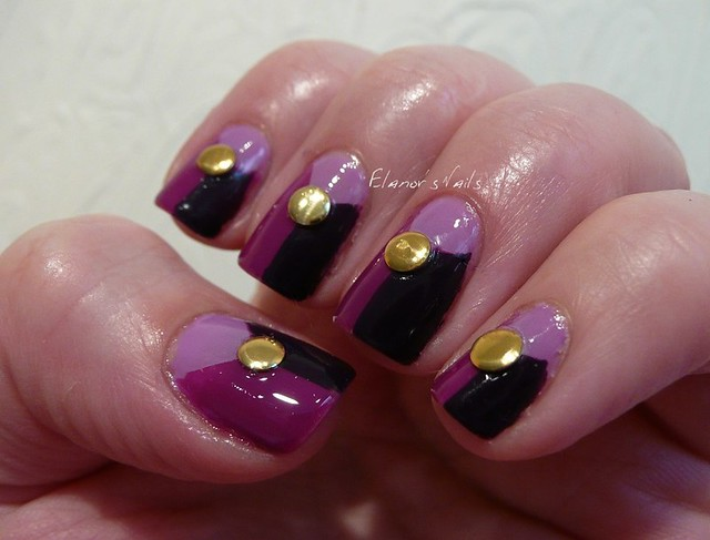 purple tape + studs 1