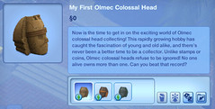 My First Olmec Colossal HEad