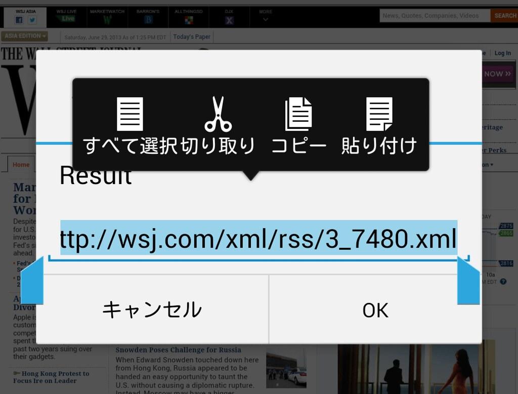 Get RSS Feed URL