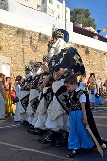 Mojácar 2013/ Moors & Christians /  Maures et chrétiens/Moros y Cristianos